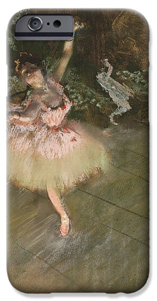Ballet Dancers iPhone Cases - The Star iPhone Case by Edgar Degas