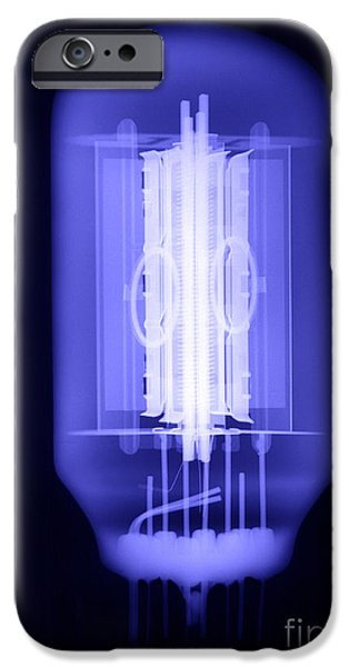 Electronic iPhone Cases - Vacuum Tube iPhone Case by Ted Kinsman