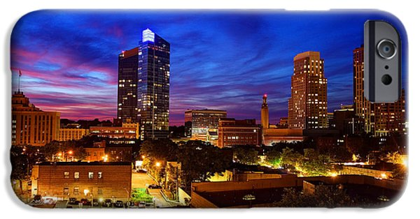 States iPhone Cases - White Plains New York iPhone Case by Denis Tangney Jr