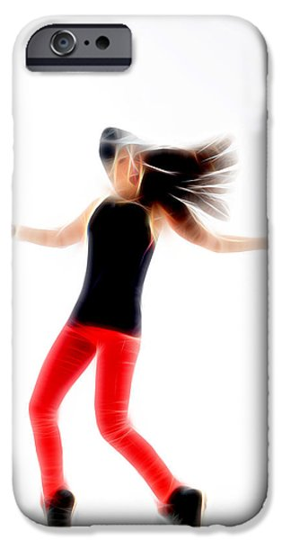 Ballet Dancers iPhone Cases - In Dance iPhone Case by Michael Vicin