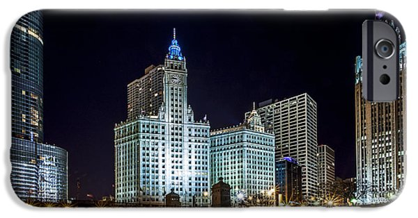Wrigley iPhone Cases - 400 North iPhone Case by CJ Schmit