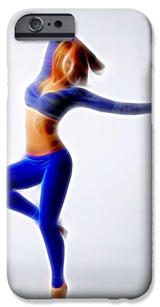 Ballet Dancers iPhone Cases - Dance Floor iPhone Case by Michael Vicin