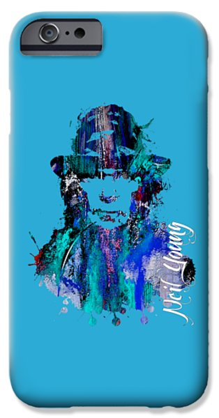 Young iPhone Cases - Neil Young Collection iPhone Case by Marvin Blaine