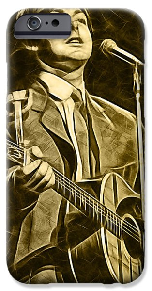 Mccartney iPhone Cases - Paul McCartney Collection iPhone Case by Marvin Blaine