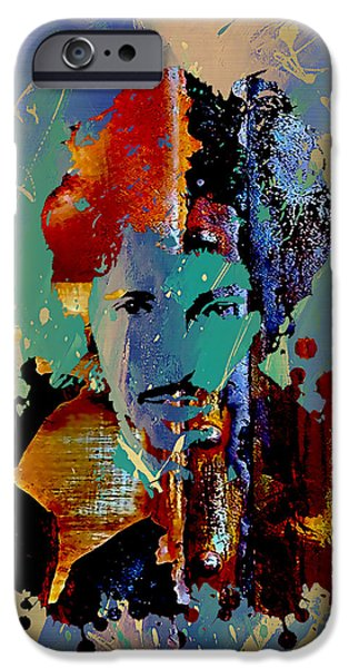 Bruce Springsteen Prints iPhone Cases - Bruce Springsteen Collection iPhone Case by Marvin Blaine