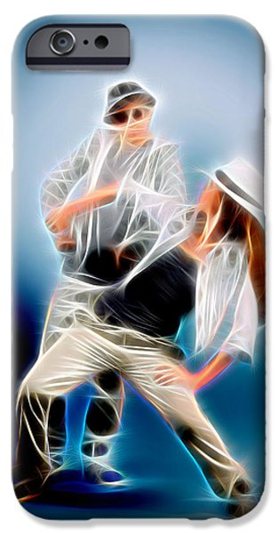 David iPhone Cases - You Dance iPhone Case by Michael Vicin