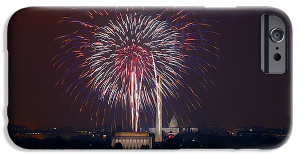 4th July Photographs iPhone Cases - 4th Of July, 2008 iPhone Case by Granger