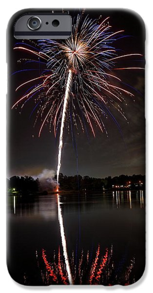 4th July Photographs iPhone Cases - 4th of July iPhone Case by Lone  Dakota Photography