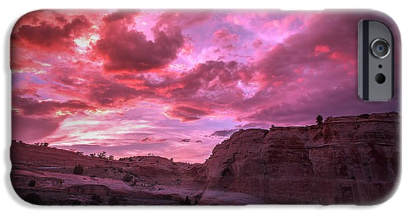 Recently Sold -  - 4th Of July iPhone Cases - 4th of July Sunset iPhone Case by Derrick  Snider