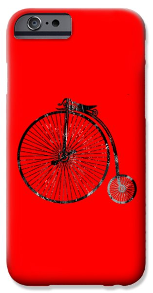 Racing iPhone Cases - Bicycle Collection iPhone Case by Marvin Blaine