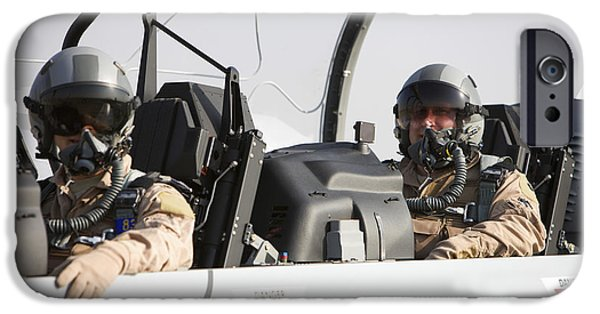 Iraq iPhone Cases - Camp Speicher, Iraq - U.s. Air Force iPhone Case by Terry Moore