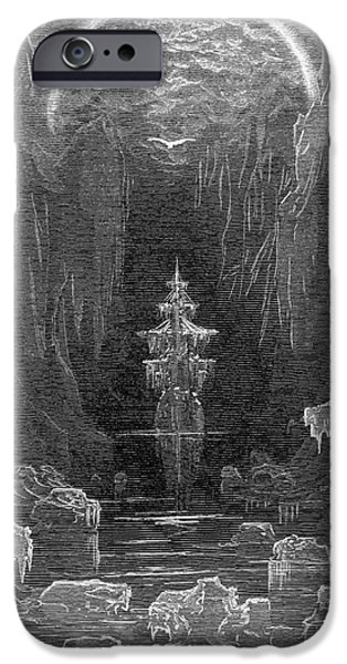 Epic iPhone Cases - Coleridge: Ancient Mariner iPhone Case by Granger
