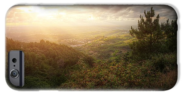 Rural iPhone Cases - Countryside Landscape iPhone Case by Carlos Caetano
