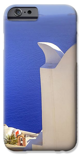 Oia - Santorini iPhone Case by Joana Kruse