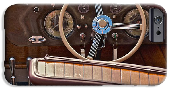 Boat iPhone Cases - Classic Wooden Runabouts iPhone Case by Steven Lapkin