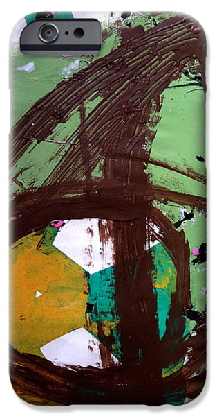 Multimedia Paintings iPhone Cases - The Whole Of The Work iPhone Case by Jason Javar Lawrence