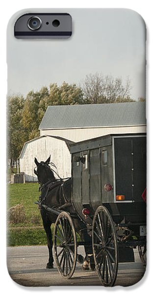 Amish Buggy iPhone Case by David Arment