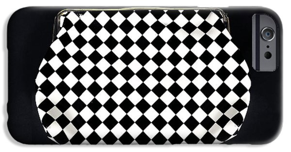 60s Photographs iPhone Cases - Black And White iPhone Case by Joana Kruse