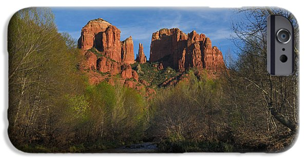 Cathedral Rock iPhone Cases - Cathedral Rock iPhone Case by Yefim Bam