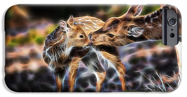 Wild iPhone Cases - Deer iPhone Case by Marvin Blaine