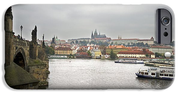 Built Structure iPhone Cases - Prague iPhone Case by Chris Smith