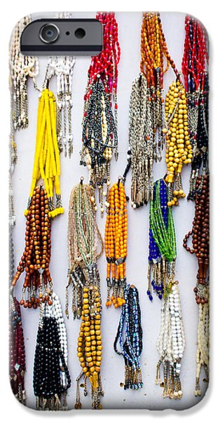 Hand-made iPhone Cases - Prayer beads iPhone Case by Tom Gowanlock