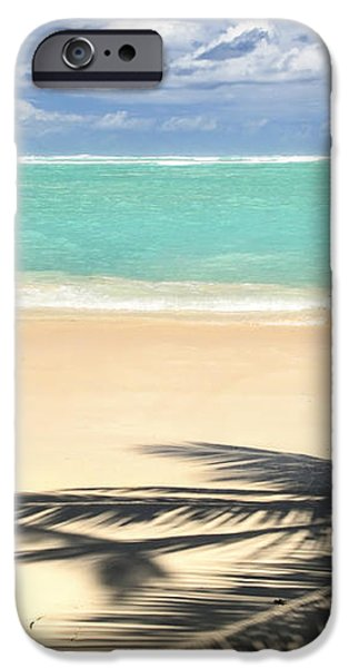 Tropical beach iPhone Case by Elena Elisseeva