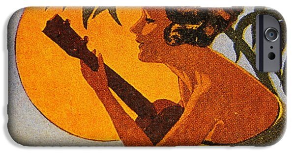 Sheets iPhone Cases - Vintage Hawaiian Art iPhone Case by Hawaiian Legacy Archive - Printscapes