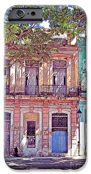Building iPhone Cases - Havana Cuba iPhone Case by Chris Andruskiewicz