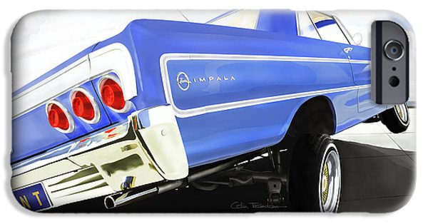 Buy iPhone Cases - 64 Impala Lowrider iPhone Case by Colin Tresadern