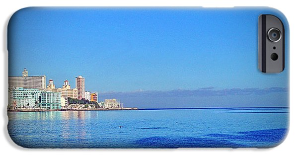 Old Cars iPhone Cases - Havana, Cuba iPhone Case by Chris Andruskiewicz
