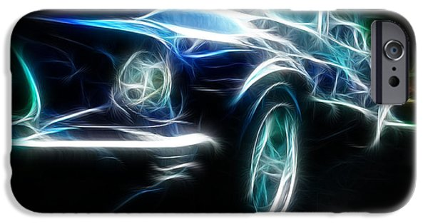 Recently Sold -  - Strange iPhone Cases - 69 Mustang Mach 1 Fantasy Car iPhone Case by Paul Ward