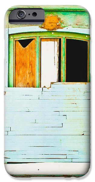 Boarded Up iPhone Cases - Boarded up window iPhone Case by Tom Gowanlock