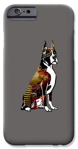 Dogs iPhone Cases - Boxer Collection iPhone Case by Marvin Blaine