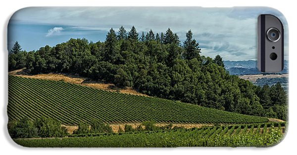 Business iPhone Cases - California Vineyard iPhone Case by Mountain Dreams