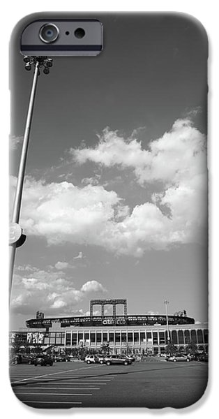 Shea Stadium iPhone Cases - Citi Field - New York Mets iPhone Case by Frank Romeo