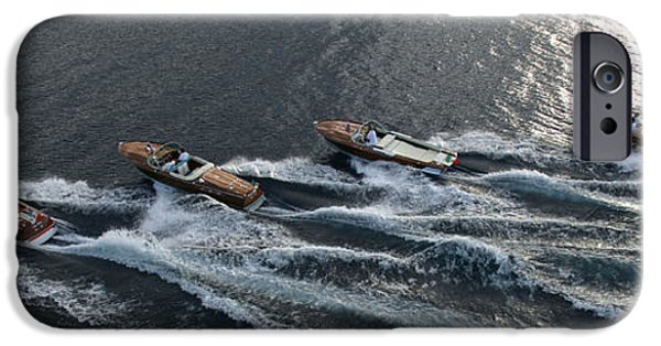 Boat iPhone Cases - Classic Riva iPhone Case by Steven Lapkin