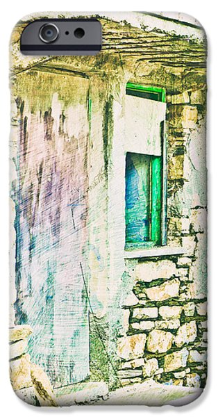 Haunted House iPhone Cases - Derelict house iPhone Case by Tom Gowanlock