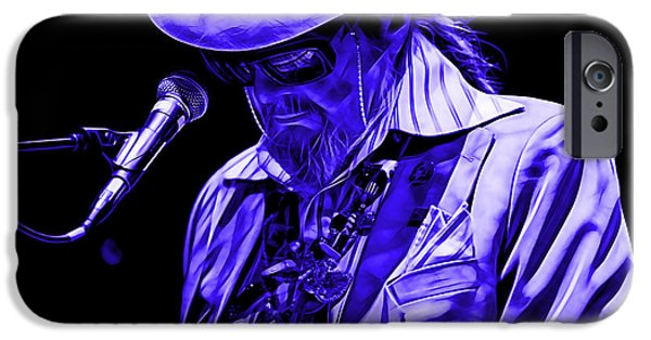 Singer iPhone Cases - Dr. John Collection iPhone Case by Marvin Blaine