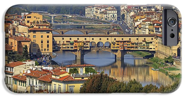 River View iPhone Cases - Florence iPhone Case by Joana Kruse