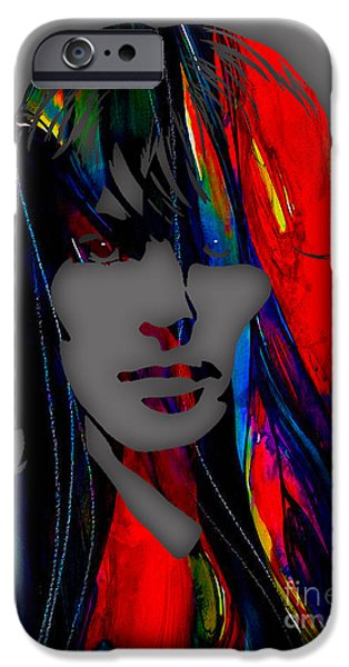 Beatles iPhone Cases - George Harrison Collecton iPhone Case by Marvin Blaine