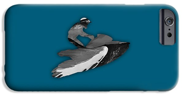 Boat iPhone Cases - Jet Ski Collection iPhone Case by Marvin Blaine