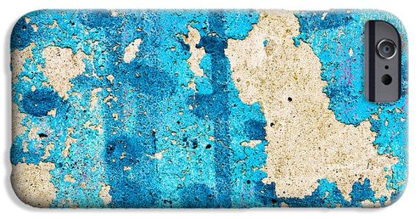 Crank iPhone Cases - Peeling paint iPhone Case by Tom Gowanlock