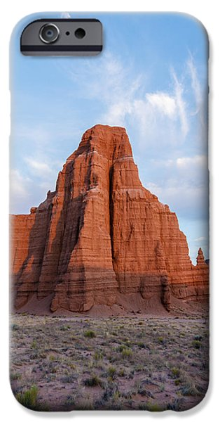 Cathedral Rock iPhone Cases - Temple of the Moon iPhone Case by Buddy Woods