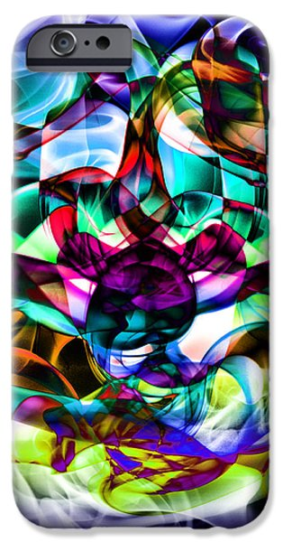 Concept iPhone Cases - Abstract Smoke Art iPhone Case by Stephen Inglis