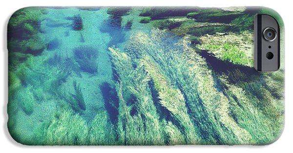Creek iPhone Cases - Spring water iPhone Case by Les Cunliffe