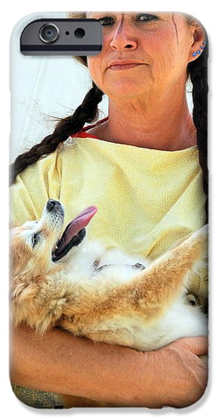Bonding iPhone Cases - Mature female beauty. iPhone Case by Oscar Williams