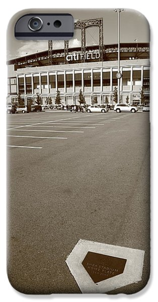 Citi Field - New York Mets iPhone Case by Frank Romeo