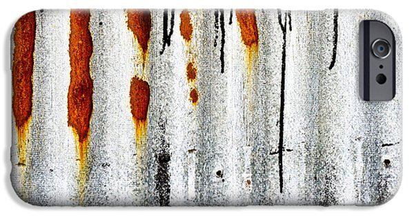 Aluminum iPhone Cases - Corrugated metal iPhone Case by Tom Gowanlock