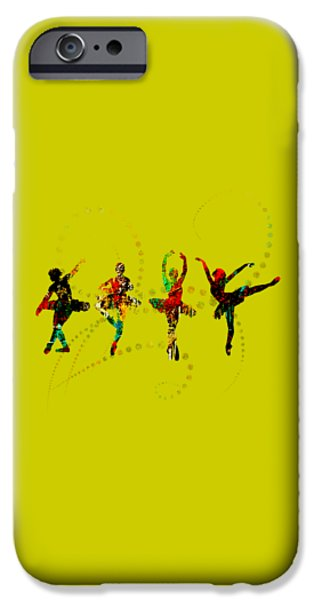 Dance iPhone Cases - Dance Collection iPhone Case by Marvin Blaine
